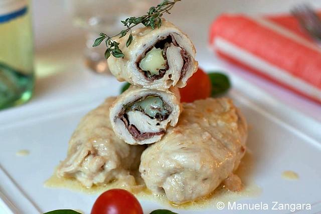 Chicken Involtini with Stracchino, Spinach and Speck | Flickr - Photo ...