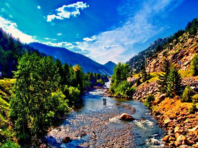 Clear creek fishing idaho springs colorado flickr for Clear creek fishing