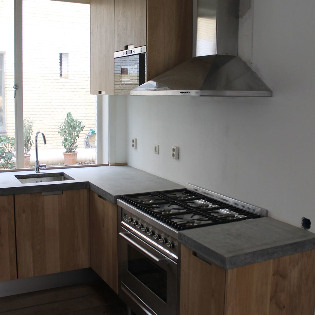 Koak Design Massief eiken houten keuken met ikea keuken ka…  Flickr