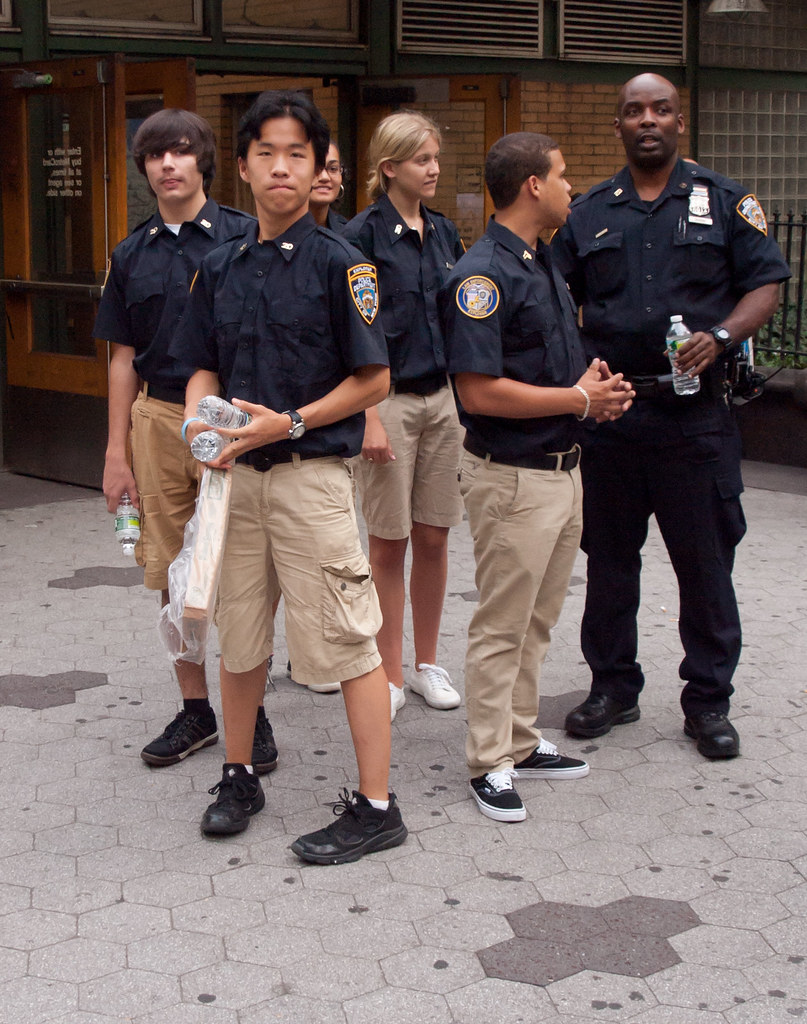 Nypd Law Enforcement Explorers Youthfulness Theeerin