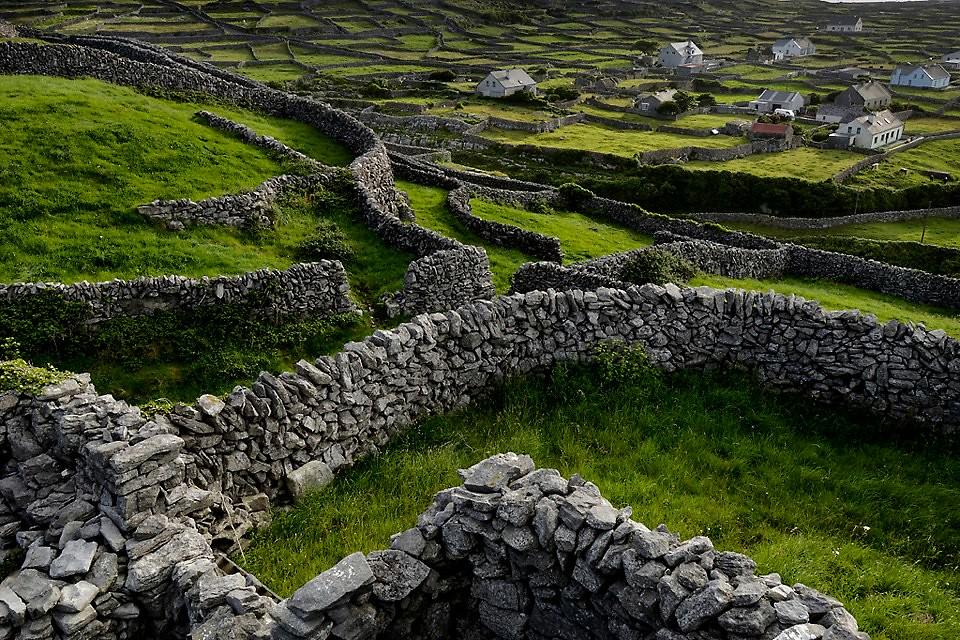 Fences On Inisheer Aran Islands Ireland Countless