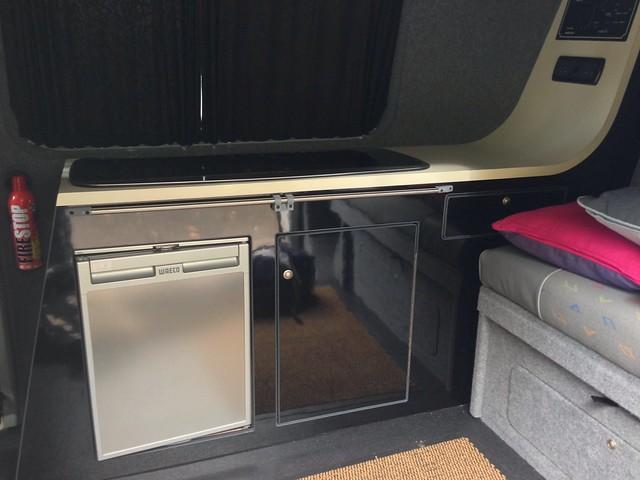 T5 camper kitchen unit flickr photo sharing for Camper van kitchen units