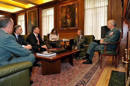 El director general de la guardia civil se ha reunido con for Ministerio del interior guardia civil