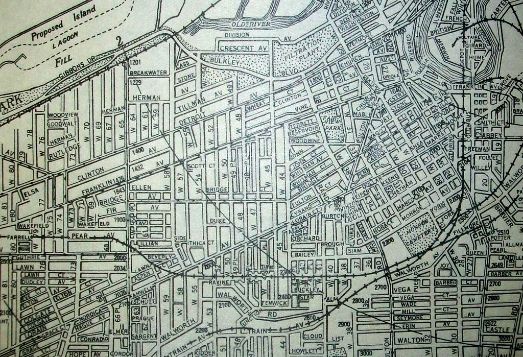 Cleveland OH 1930 | Map by The Cleveland Directory Company ...