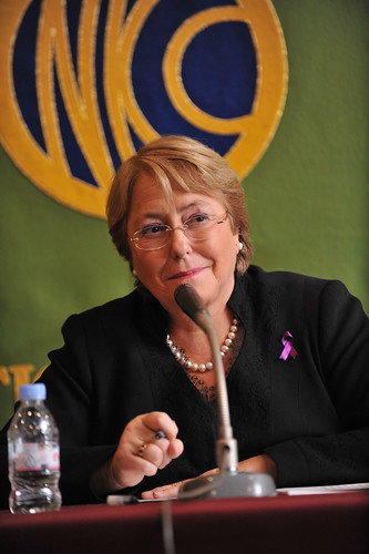 UN Women Executive Director Michelle Bachelet holds a press conference at the Japan National Press Club | by UN Women Gallery