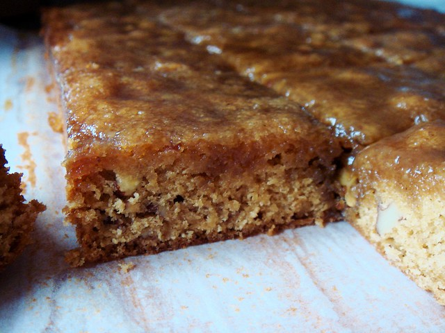 Maple Pecan Blondies with Maple Butter Glaze | Flickr - Photo Sharing!