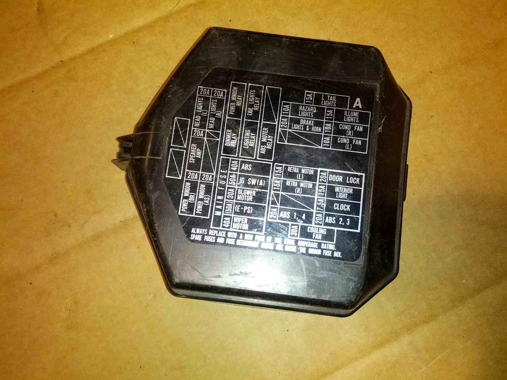 ... NSX Fuse box cover 1   by truckadsjoe