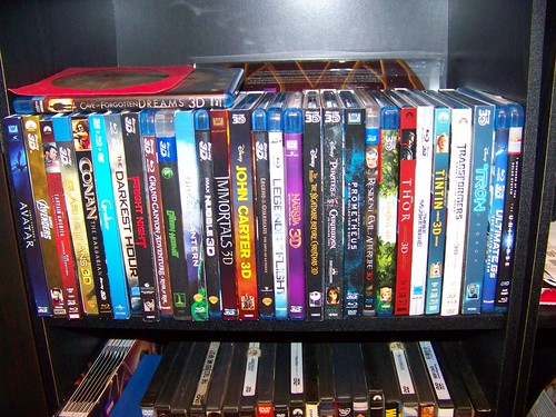 MY COLLECTION OF 31 3D BLU-RAY FILMS - WHAT SHOULD I GET N ...