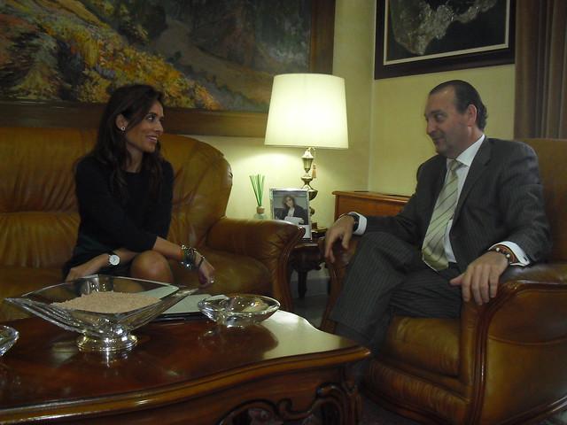 La directora general de pol tica interior y el delegado Gobierno de espana ministerio del interior