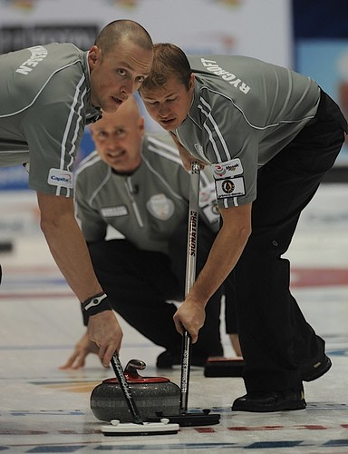 Kevin Koe, Nolan Thiessen & Carter Rycroft | by seasonofchampions