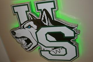 Locker Room Logo Rug