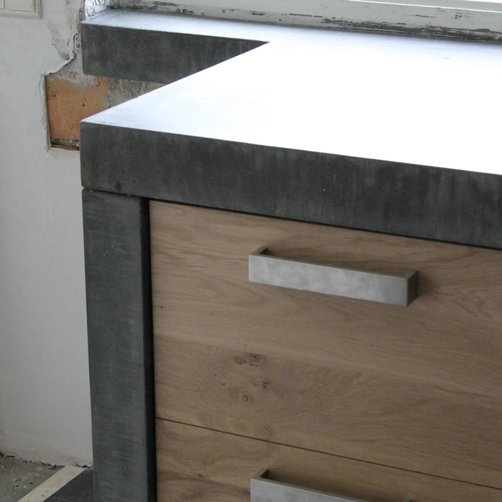 Massief eiken houten keuken met ikea keuken kasten door Ko?  Flickr
