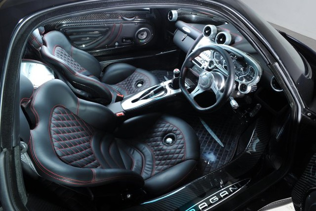 pagani zonda c12 luxury automobile car interior design flickr