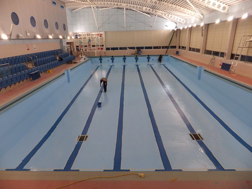 Swimming pool painters the main pool is closed for 39 tank - Loughborough university swimming pool ...