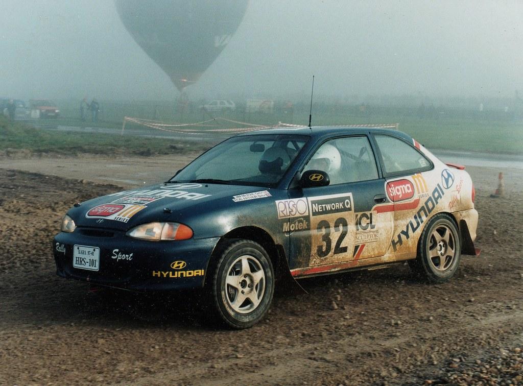 Hyundai Accent Mvi Grpa Rally Car Jimmy Mcrae Rob Arth Flickr