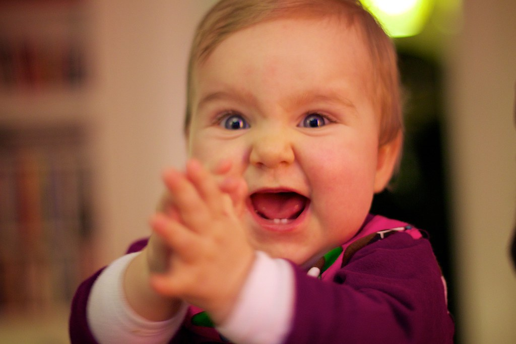 Happy baby | Jacob Bøtter | Flickr