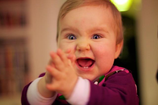 Happy baby | Flickr - Photo Sharing!