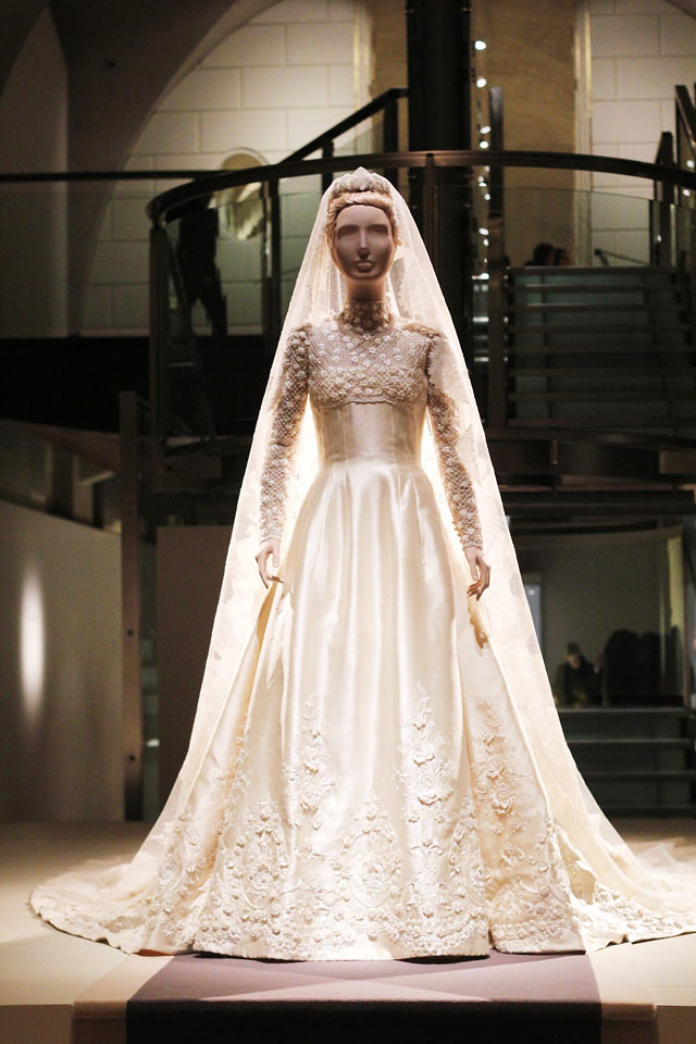 Valentino Exhibition Princess Marie Chantal Wedding Dress
