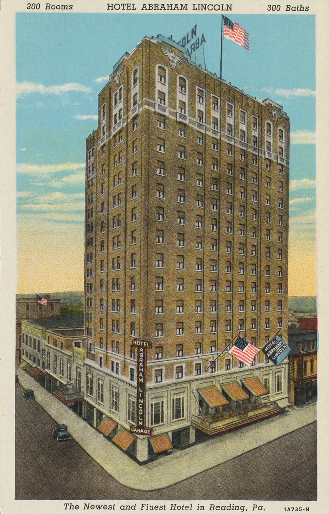 Hotel Abraham Lincoln - Reading,  Pennsylvania