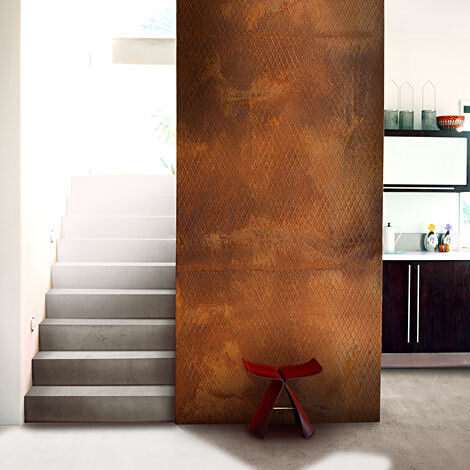 Rust Wall Feature Industrial Chic Decor Www
