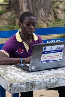 Students & Laptop II | by OER Africa