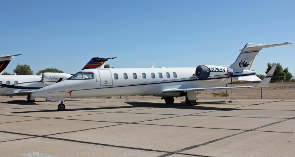 Learjet 45 N229BK  Parked  Chris Kennedy  Flickr