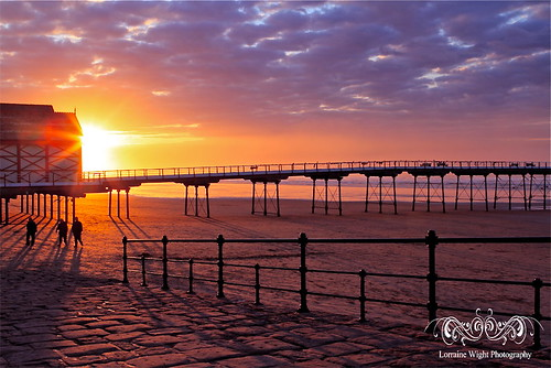 Saltburn Sunset | by Lorraine Wight Photography