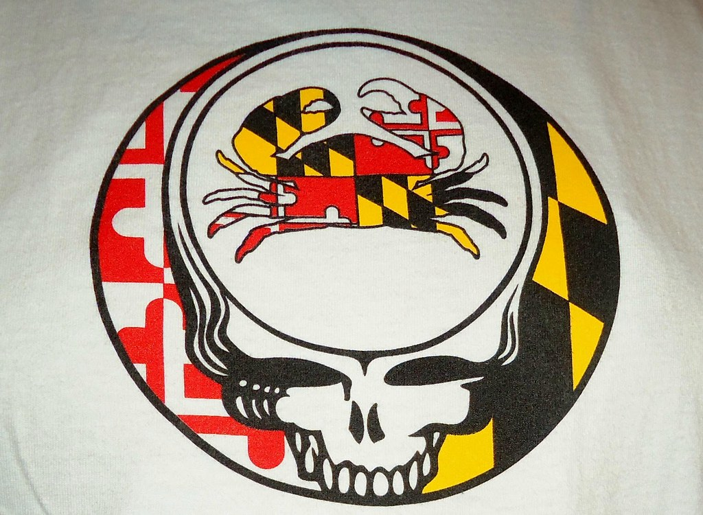 Maryland Flag Crab Steal Your Face Shirt The Grateful Dead Flickr
