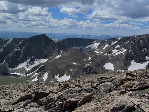 Atop Mt. Rearguard, Montana