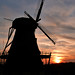Sunset at the Historic Fabyan Windmill