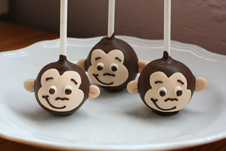 Curious George Cake Pops | by Sweet Lauren Cakes