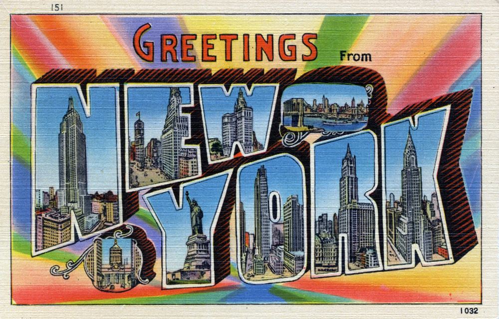 Greetings from new york new york large letter postcard flickr greetings from new york new york large letter postcard by shook photos m4hsunfo