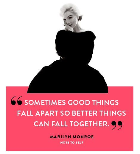 Marilyn Monroe Quotes Better Things Can Fall Together: Located In Downtown Raleigh, NC
