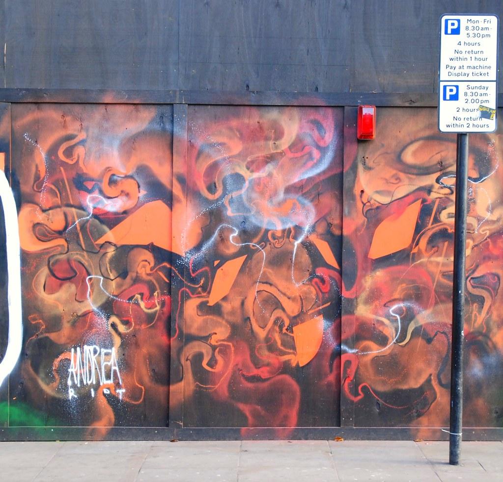 Graffiti Andrea Riot Brick Lane East London England Flickr