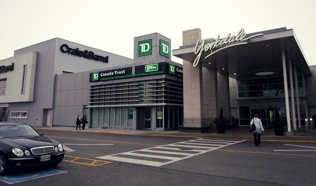 td canada trust bank yorkdale mall shopping centre t flickr. Black Bedroom Furniture Sets. Home Design Ideas