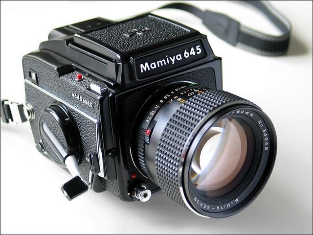 Mamiya 645 1000s & 80/1,9-C