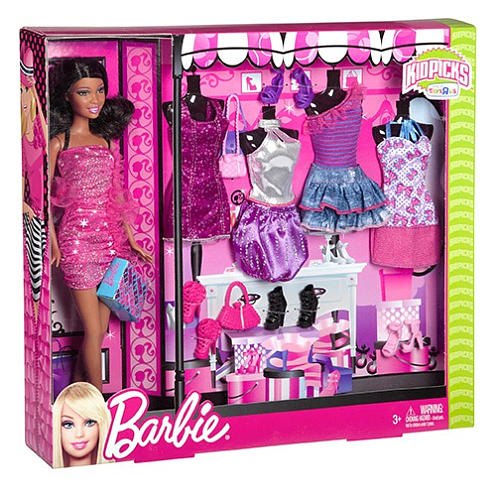 Barbie Fashionista Dolls Set Turquoise Cutie s favorites