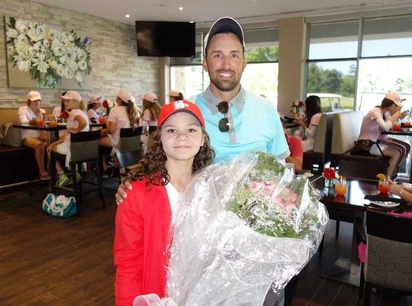 Bradlee Ryall with Jordan - Manitoba - Lionhead