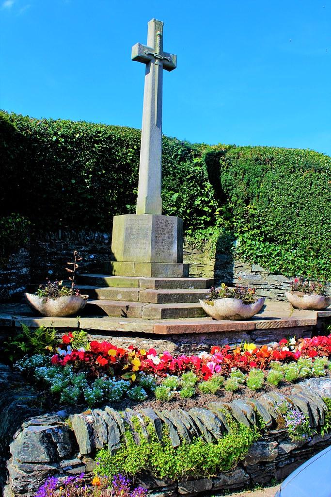 Luss War Memorial, Scotland