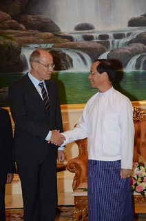 WIPO Director General Meets Myanmar's Vice President | by WIPO | OMPI