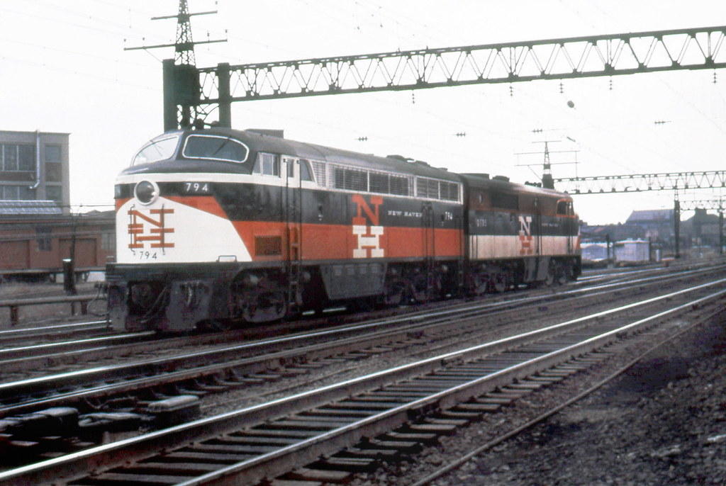 New haven railroad der 4 fm cpa 24 5 locomotive 794 amp d flickr