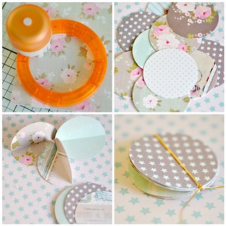 Pretty paper bauble -steps 1-4 | by toriejayne