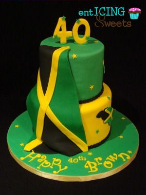 Jamaican Birthday Cake Enticing Sweets Flickr
