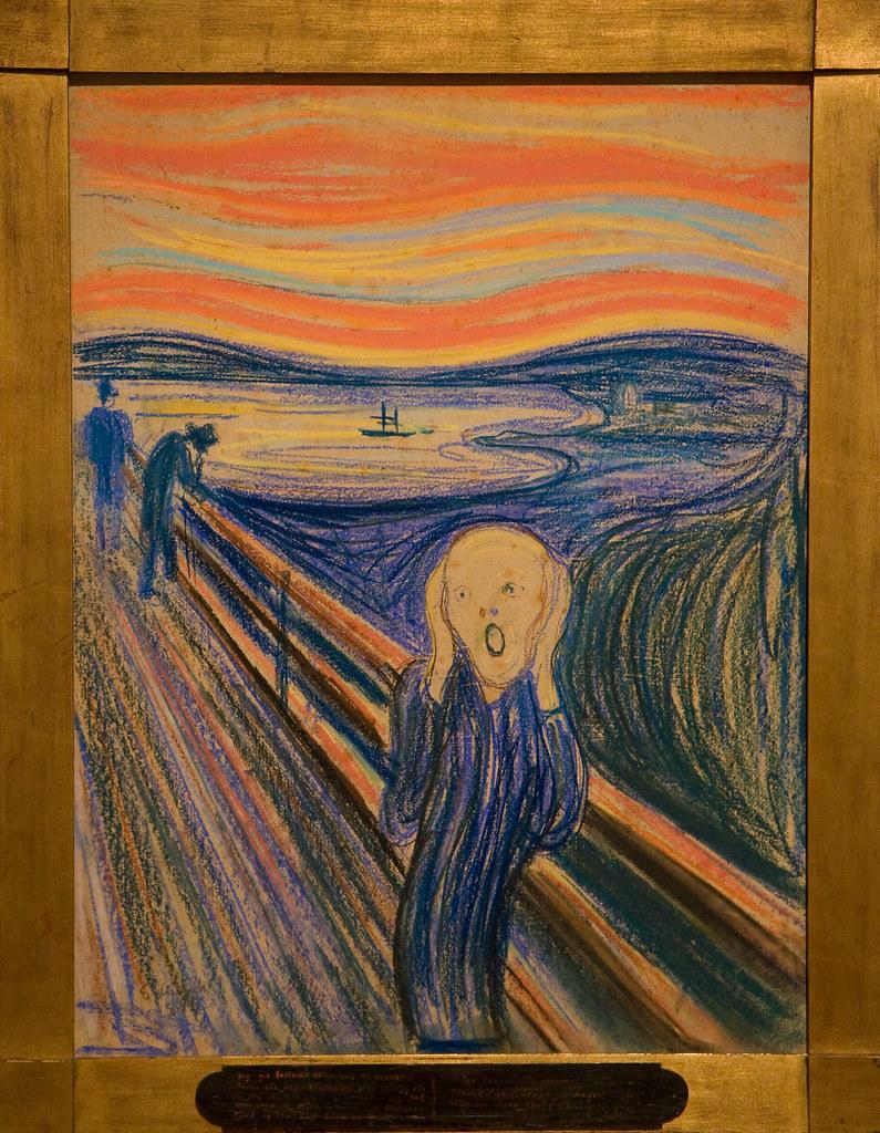 Munch, The Scream, MoMA | Garrett Ziegler | Flickr