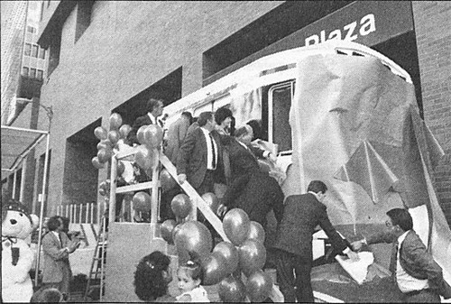 Model for Los Angeles County's new light rail cars, November 30, 1988 | by Metro Transportation Library and Archive