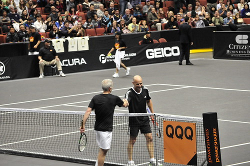 Agassi beats McEnroe in the second semi-final | by roshweb