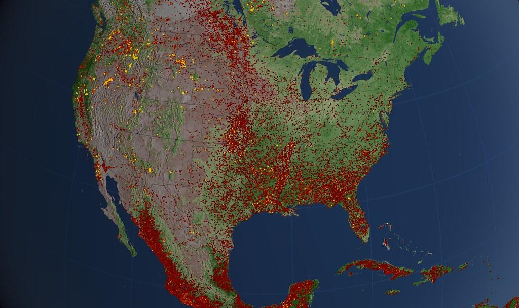 nasa fire map - photo #21