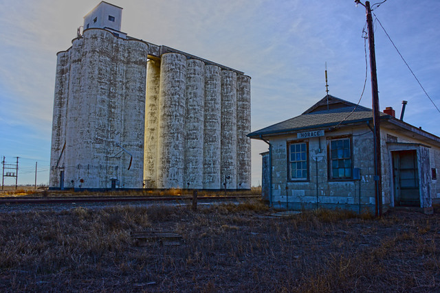 Horace Ks Grain Elevator Depot Flickr Photo Sharing