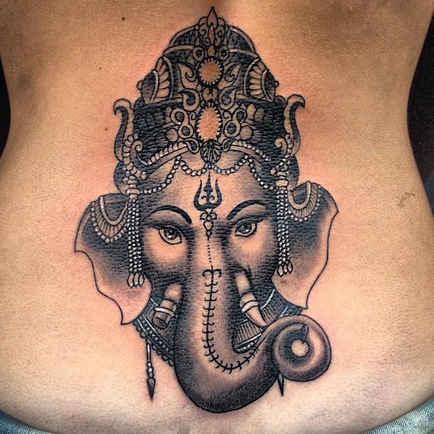 Ganesh Ganesh Tinta Tattoo Tatuajes Ink Hindu India
