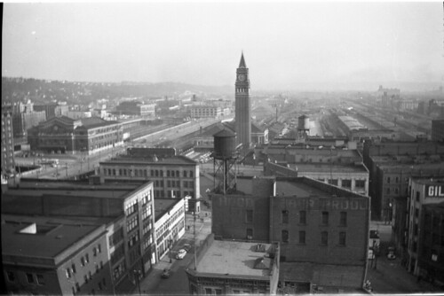 Sodo Seattle 1945 From The Frye Hotel On 3rd And